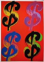 $ (4), [ii.281] by andy warhol